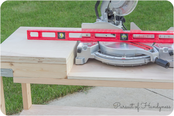 Simpson Strong Tie Miter Saw Bench-26