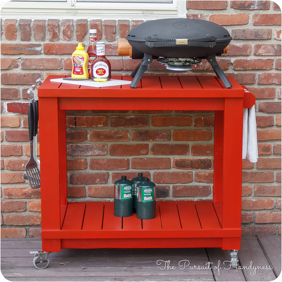 Table Top Grill Cart 01
