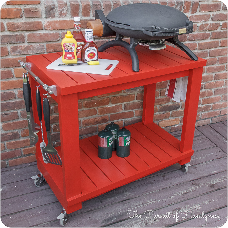 Table Top Grill Cart 19