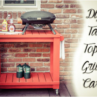 TableTop Grill Cart Diy