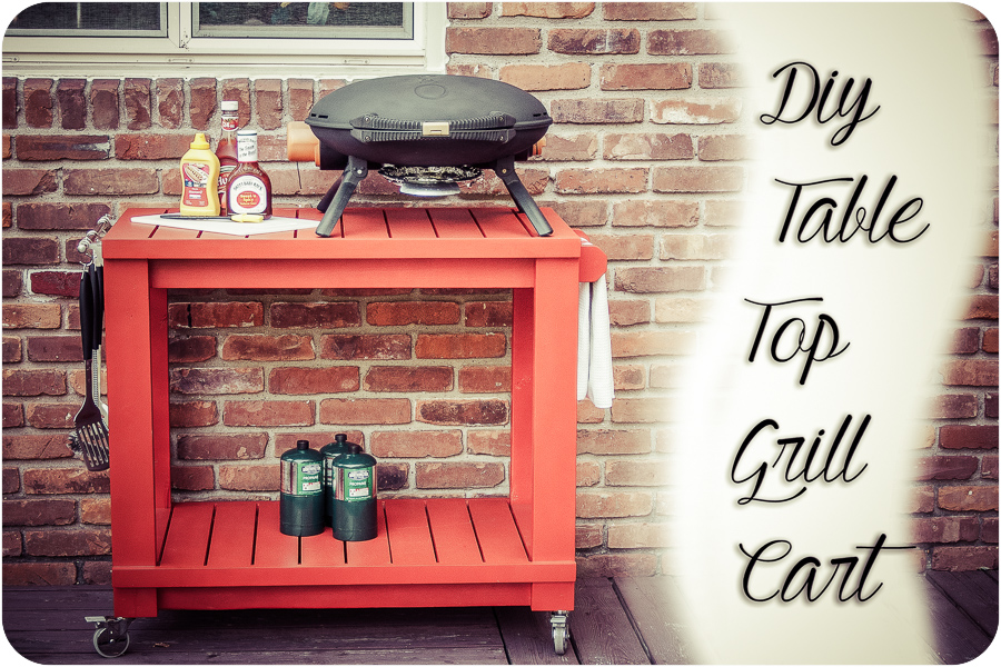 Table Top Grill Cart 20-2