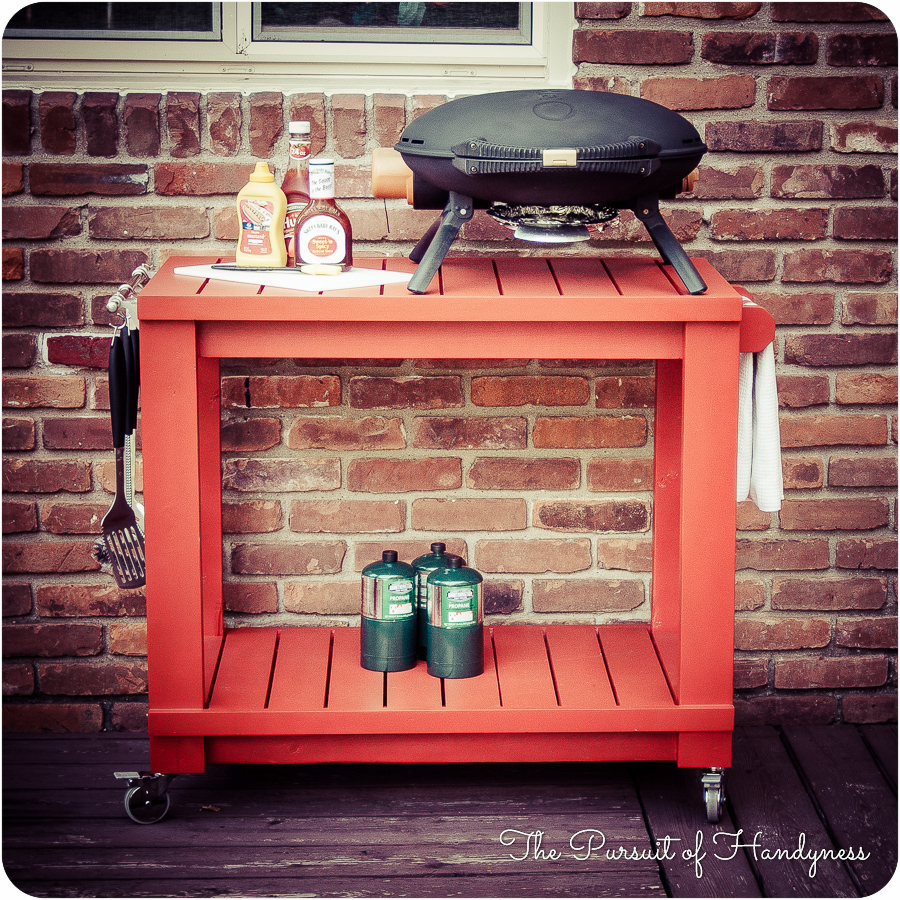 Table Top Grill Cart 20