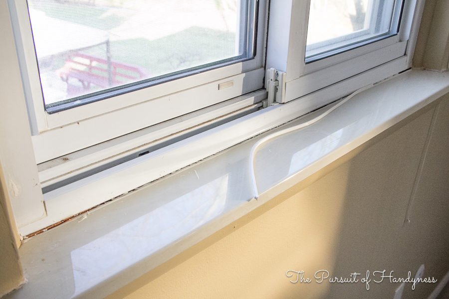 new window sill window trim